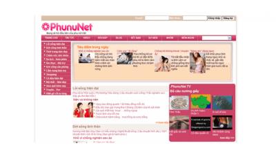 Bảng giá quảng cáo Báo Phununet.com