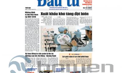 báo giá quảng cáo báo đầu tư báo giấy
