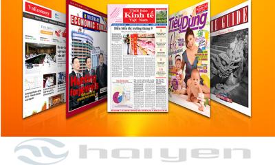 báo giá quảng cáo thời báo kinh tế việt nam, báo giấy