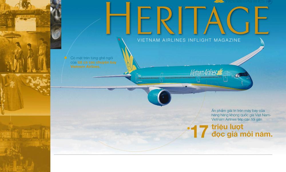 Bảng giá quảng cáo Tạp chí Heritage