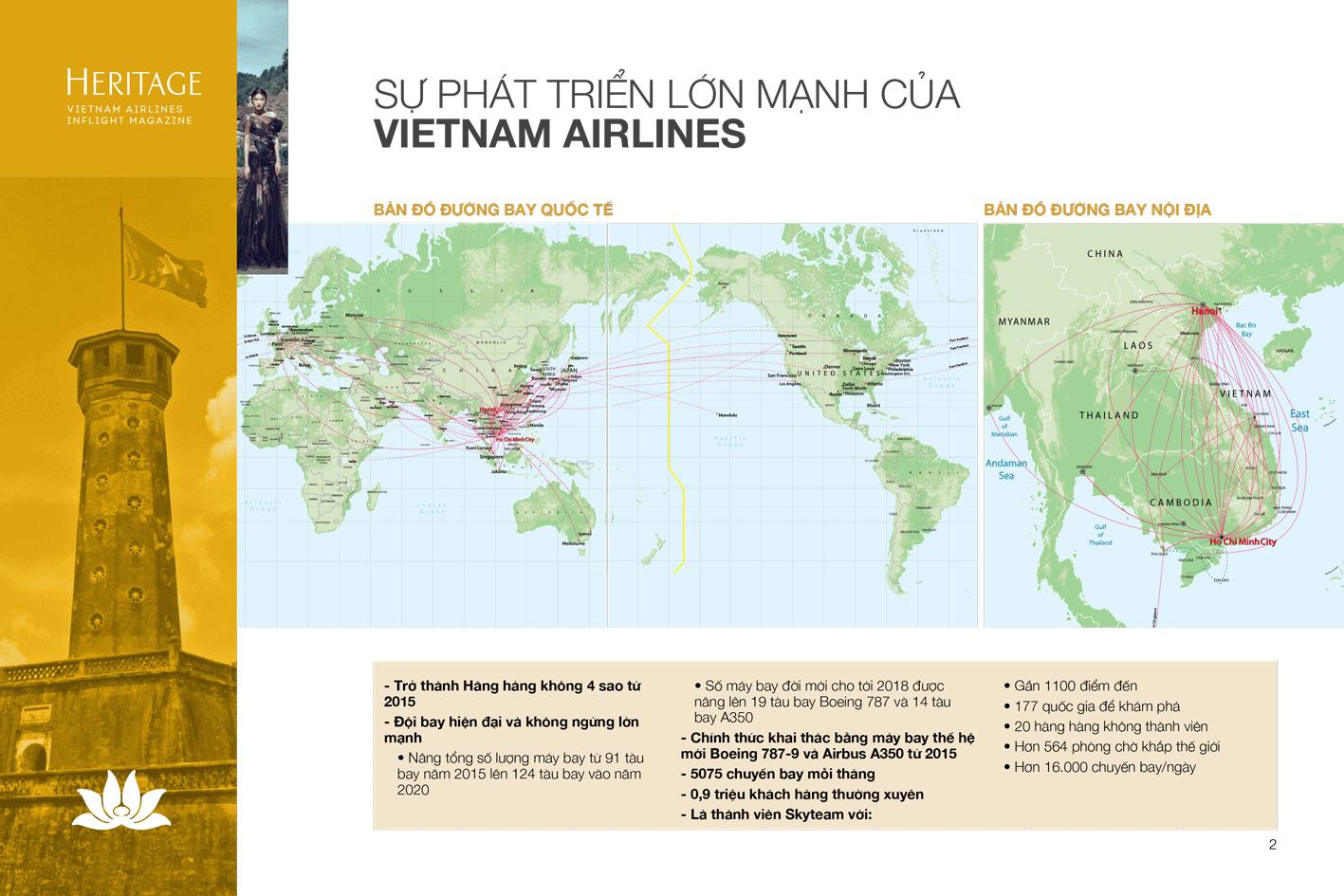 Bảng giá quảng cáo tạp chí trên máy bay