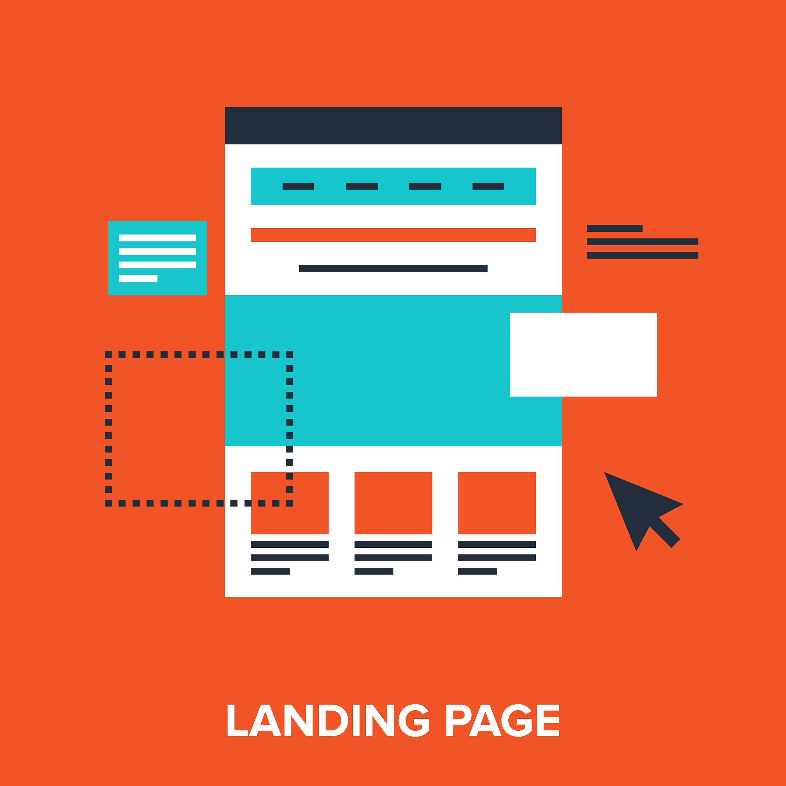 Sắp xếp bố cục trên landing page một cách hợp lý sẽ giúp bạn níu được người dùng ở lại trang của mình lâu hơn.