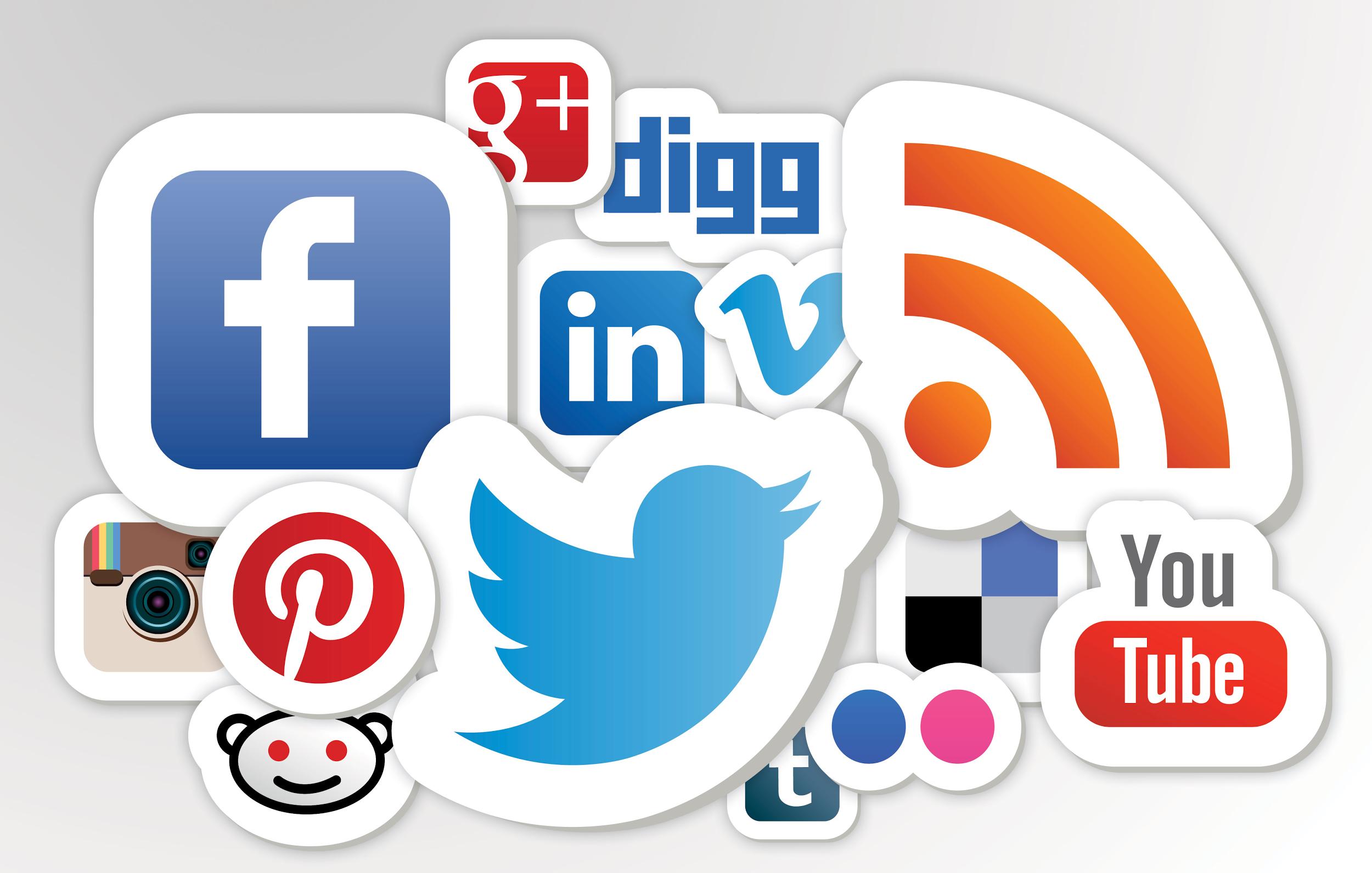 Mạng xã hội chính là một trong những công cụ hộ trợ landing page rất tốt.