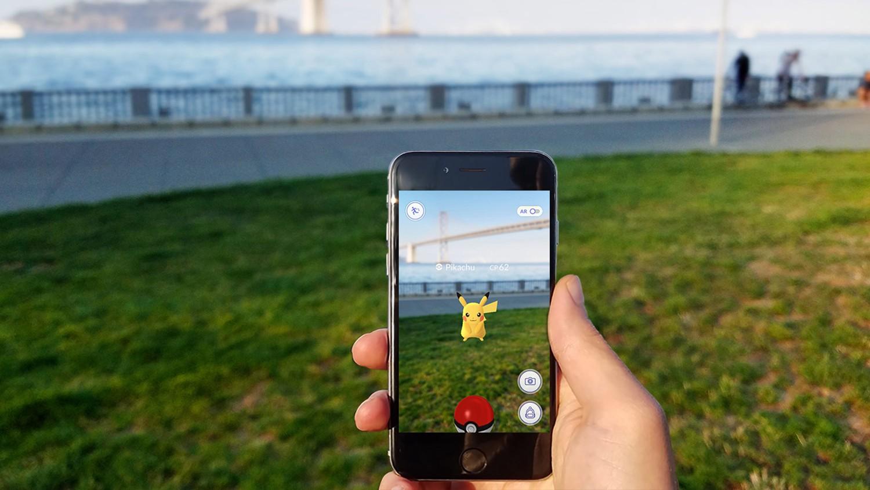 Công nghệ thực tế tăng cường AR gây điên đảo trên pokemon GO 1 thời