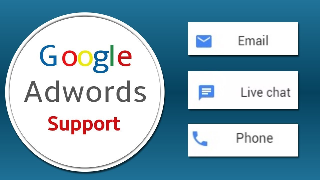 Google hỗ trợ Adwords