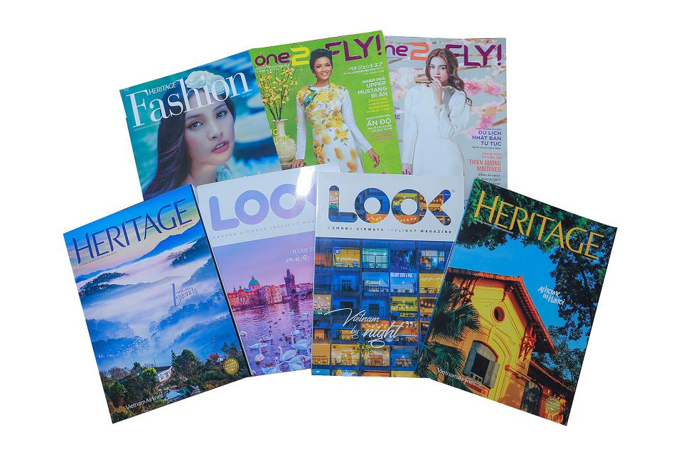 Quảng cáo tạp chí máy bay Việt Nam – tại sao không? marketingreview.vn 2