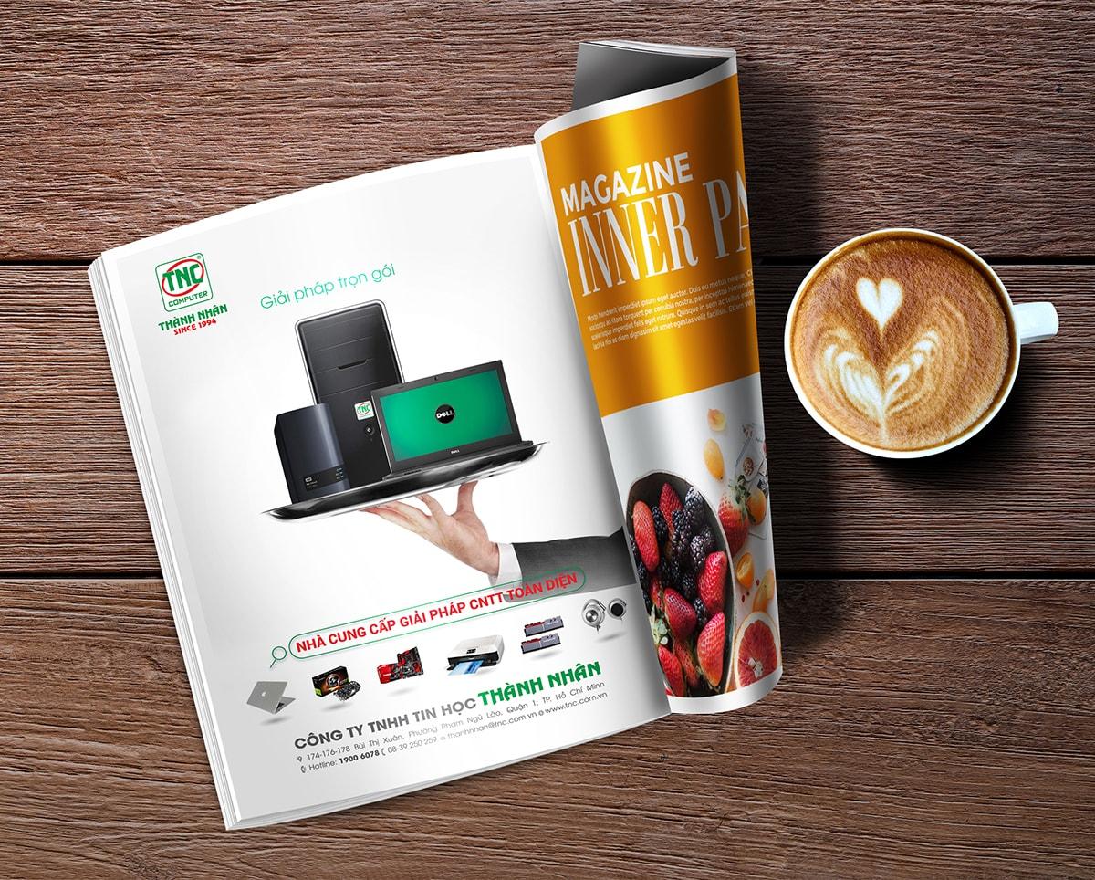 Quảng cáo trên tạp chí cuốn hút người đọc như thế nào? marketingreview.vn