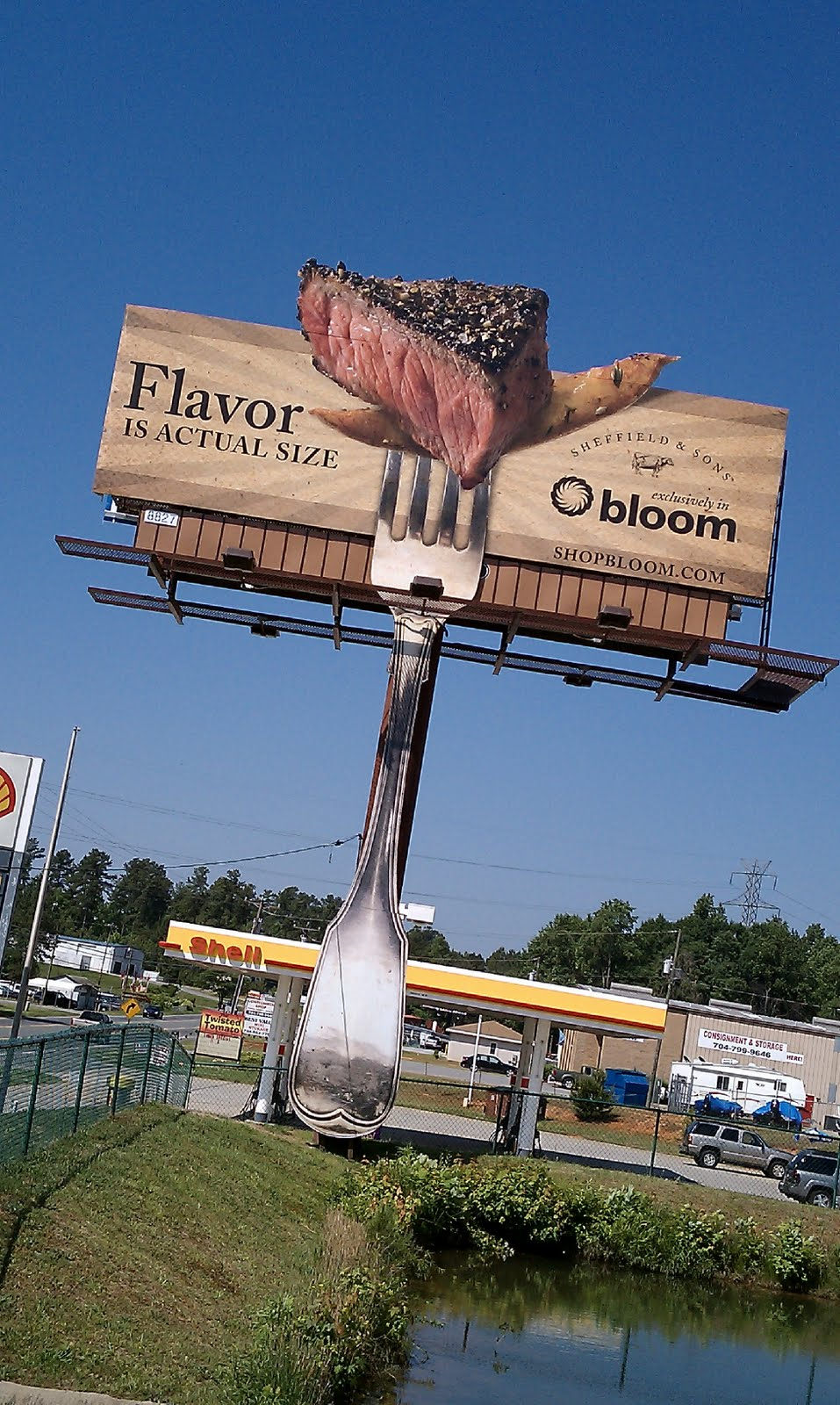 Billboard quảng cáo có mùi thịt nướng hấp dẫn thực khách marketingreview.vn 4