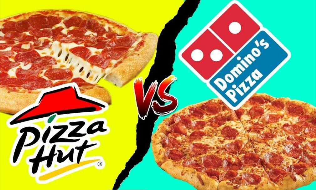 Pizza Hut và đối thủ cạnh tranh lớn nhất - Domino's Pizza